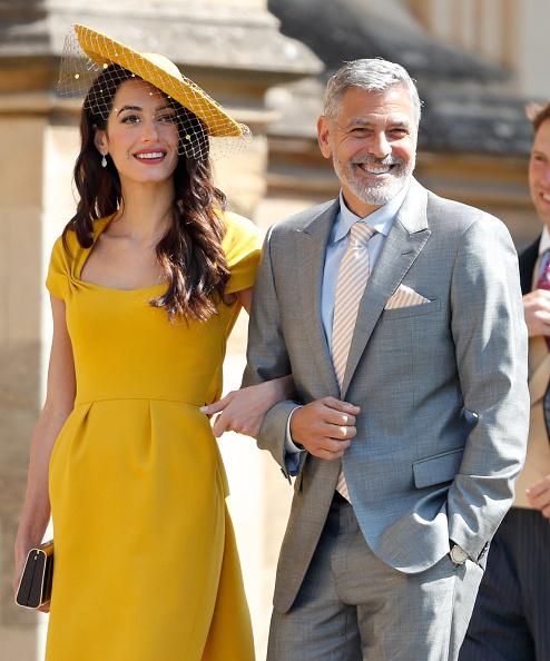 Фото №1 - Шоу «Друзья»: Джордж Клуни признался, что на самом деле не знаком с Меган Маркл и принцем Гарри