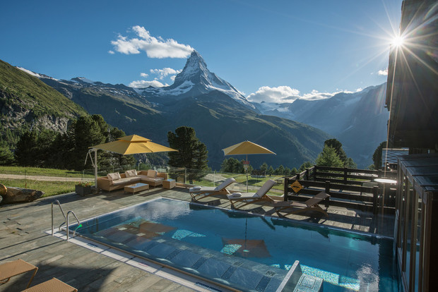 Пять причин отправиться этим летом в швейцарский отель Riffelalp Resort (фото 13)