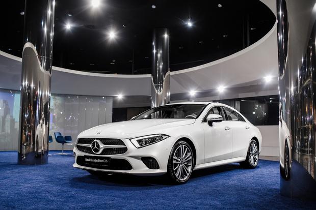 Выставка Инны Панасенко в салоне Mercedes-Benz (фото 3)