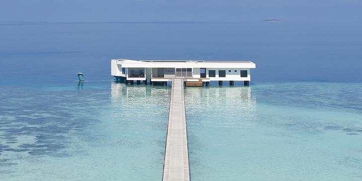 Первый в мире подводный отель (фото 5)