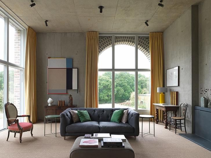Дом архитектора Адама Ричардса в Западном Сассексе (фото 12)