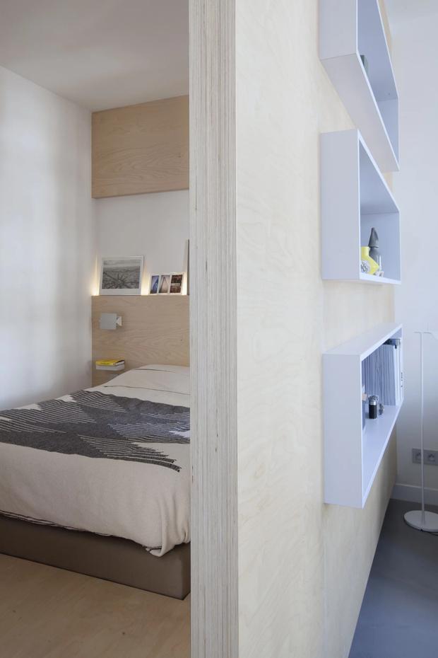 Минималистская квартира 47  м²  в Париже (фото 11)