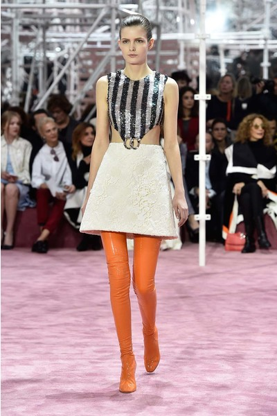 Показ Dior Haute Couture | галерея [1] фото [4]