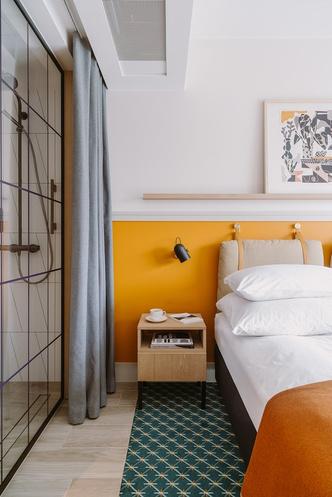 Puro: новый дизайнерский отель в Лодзе (фото 3.1)