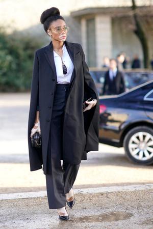 Гости на показе Dior Haute Couture в Музее Родена (фото 17)