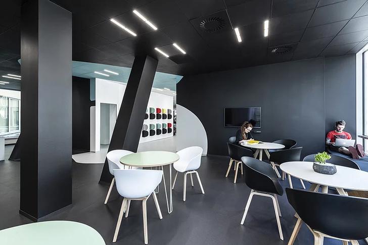Офисное пространство с оптическими иллюзиями от B2 Architecture (фото 11)