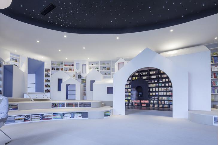 Радужный книжный магазин в Китае (фото 12)