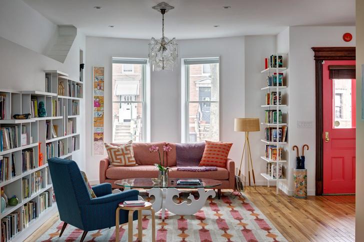 «Дом для любителей кошек и книг» в Бруклине (фото 6)