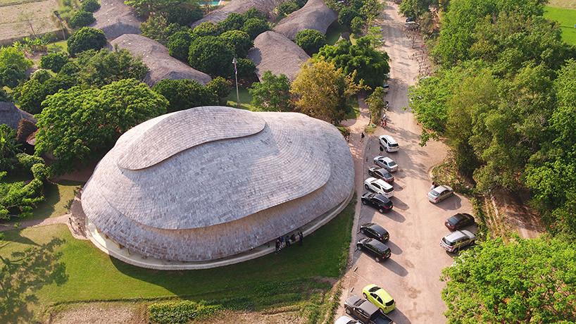 В Таиланде построили спортзал из бамбука | галерея [1] фото [2]
