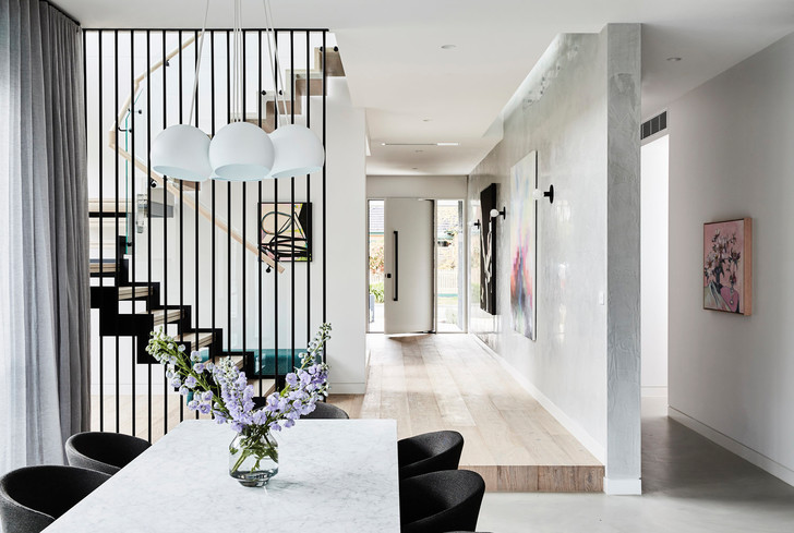Дом в Мельбурне с пастельными акцентами (фото 3)