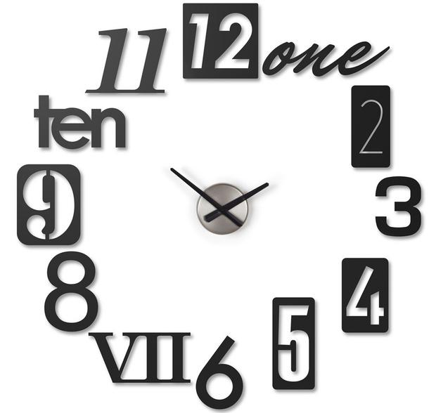 Успеть до полуночи. Дизайнерские настенные часы для встречи Нового Года фото [5]