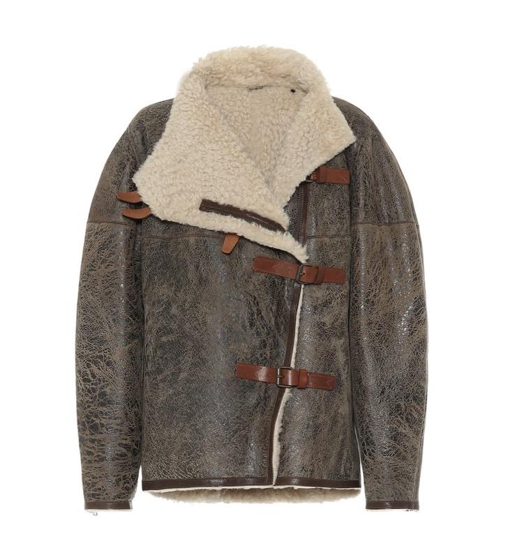 Кожаная куртка с мехом — лучшая покупка ноября (фото 10)