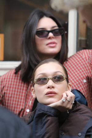 Модный отряд: Белла Хадид и Кендалл Дженнер в Нью-Йорке (фото 2)