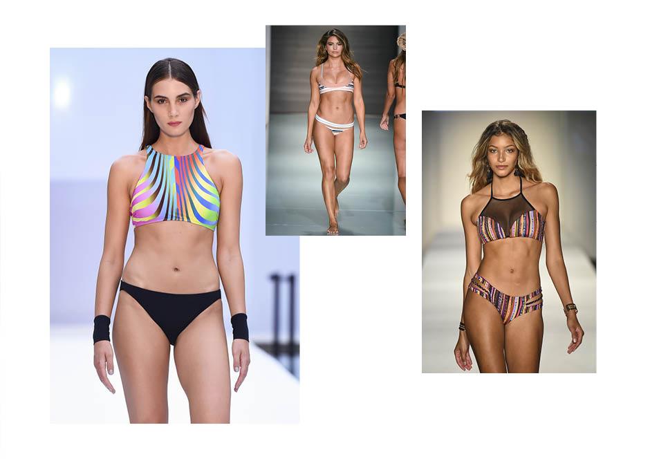 пляжная мода 2018 тенденции фото