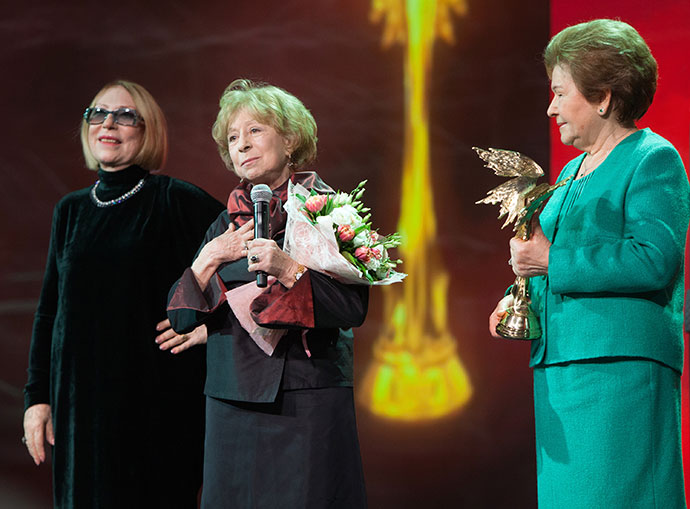 Инна Чурикова, Лия Ахеджакова и Наина Ельцина