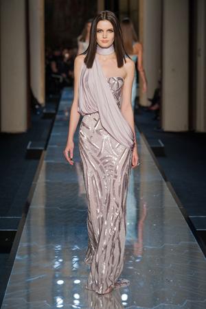 Показ Atelier Versace коллекции сезона Весна-лето 2014 года Haute couture - www.elle.ru - Подиум - фото 574010