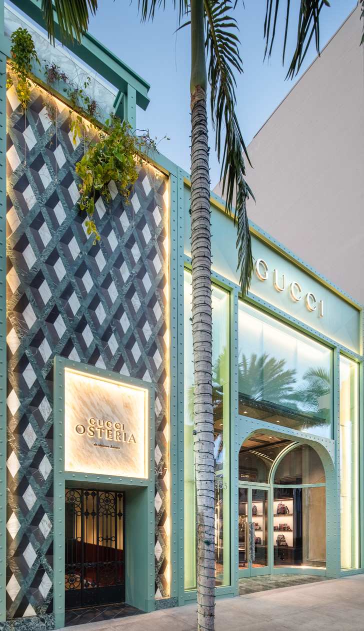 Ресторан Gucci Osteria в Лос-Анджелесе (фото 3)