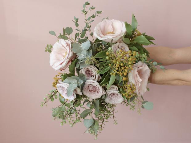 Мастер-класс: осенний букет из диких цветов (фото 25)