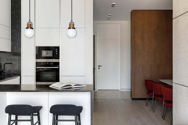 Лаконичная квартира 88 м² в Москве для молодой семьи (фото 2)