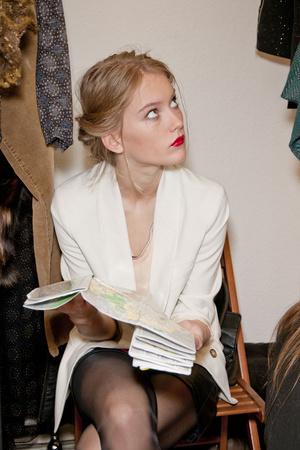 Показ Kristina Ti коллекции сезона Осень-зима 2012-2013 года Prêt-à-porter - www.elle.ru - Подиум - фото 361310