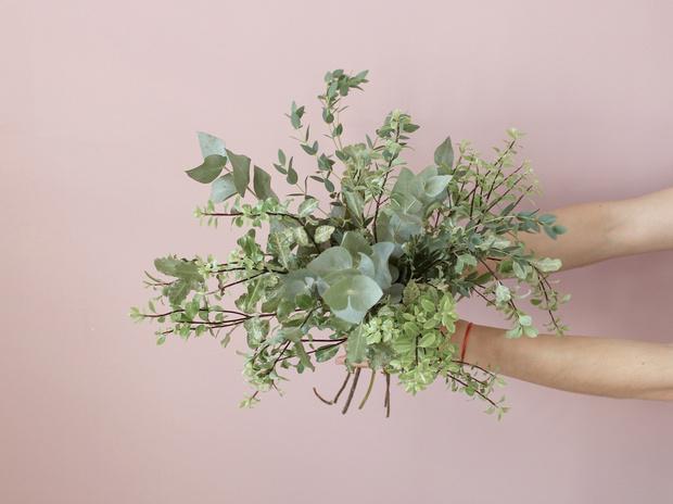 Мастер-класс: осенний букет из диких цветов (фото 11)