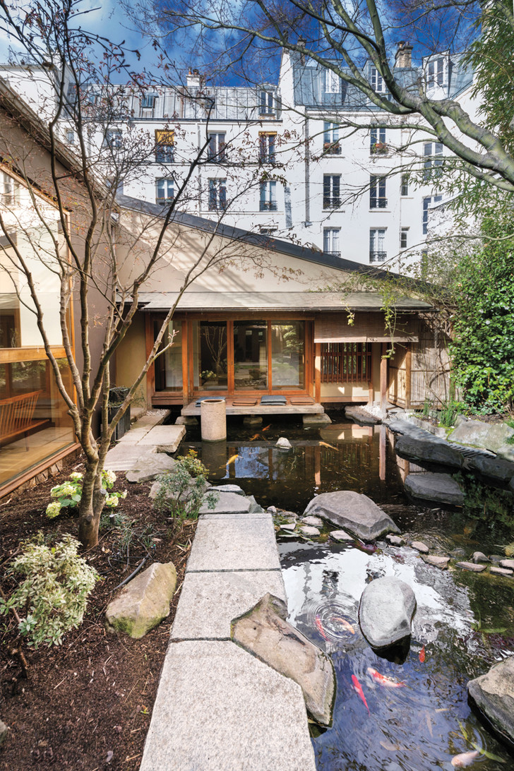 Кенго Кума переделал парижский дом Кензо Такады (фото 29)