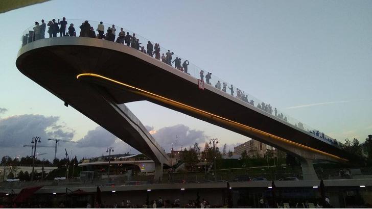 Парк «Зарядье» мост