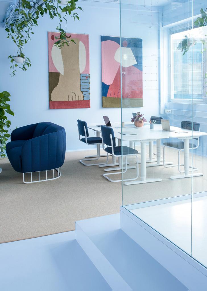 Офис в пастельных тонах по проекту Kvistad в Осло (фото 9)