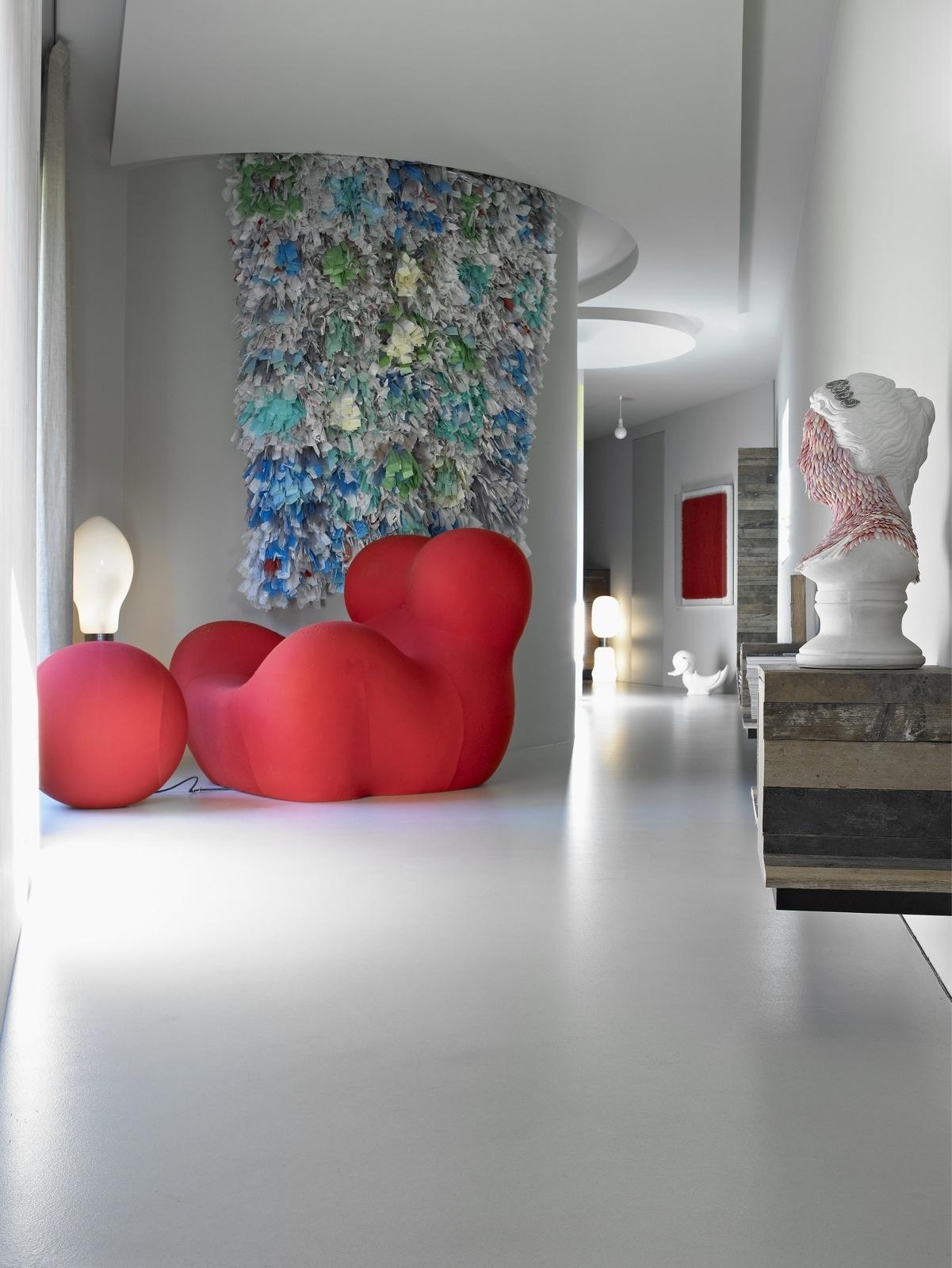 Ковер на стене: 10+ модных примеров (галерея 0, фото 5)