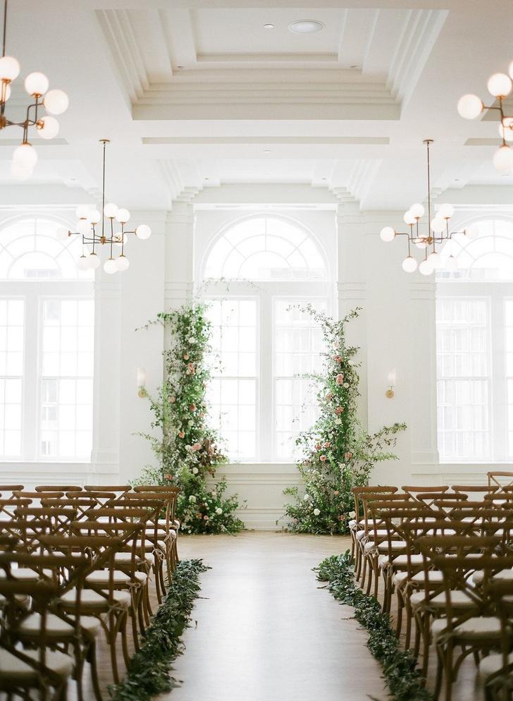 Зелень в декоре свадьбы: 7 вдохновляющих идей (фото 0)