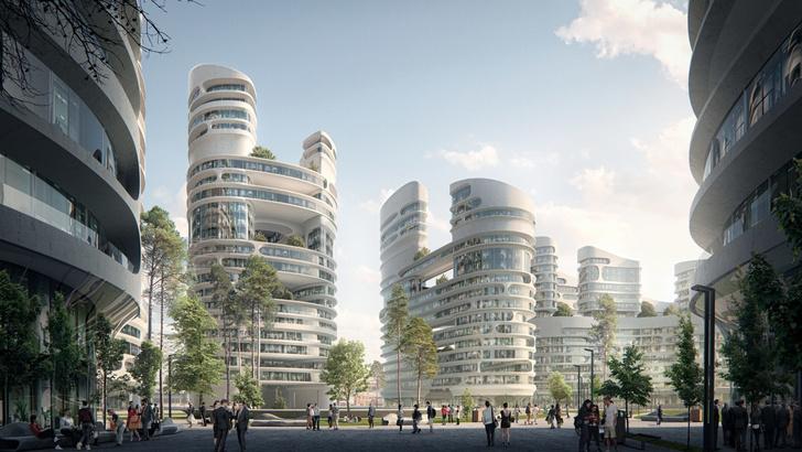 Главные проекты Zaha Hadid Architects в России (фото 5)