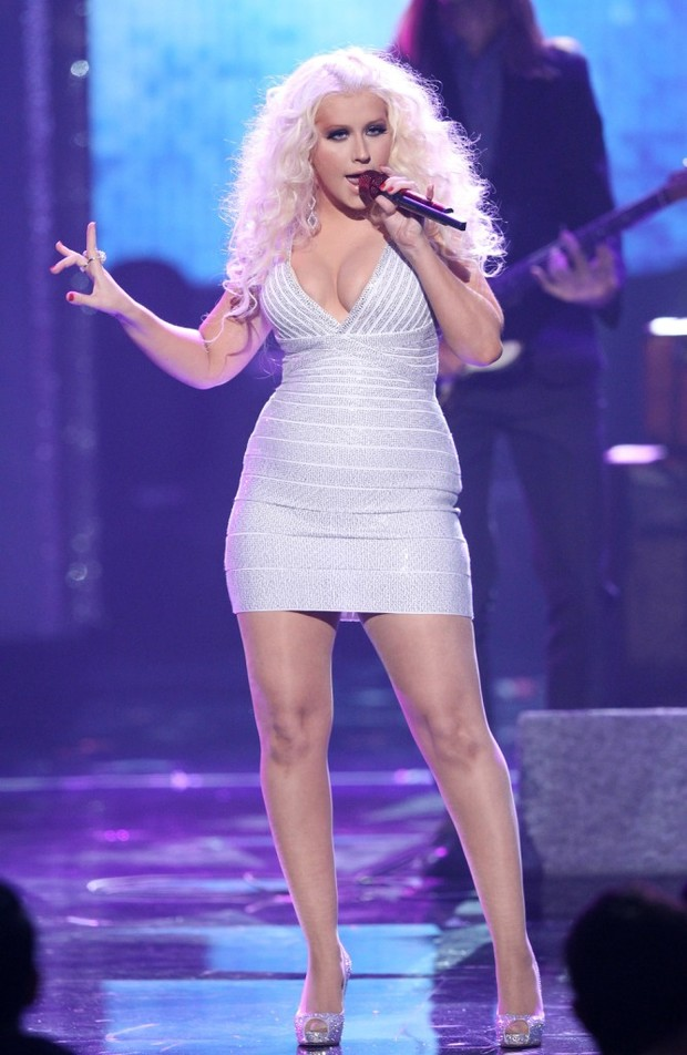 Кристина Агилера на American Music Awards 2011 год