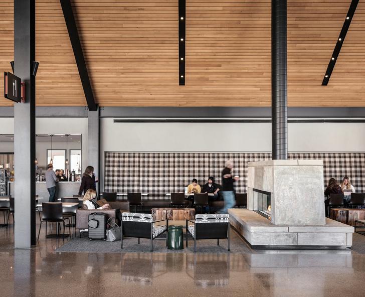 Новый дизайн аэропорта в Колорадо (фото 12)