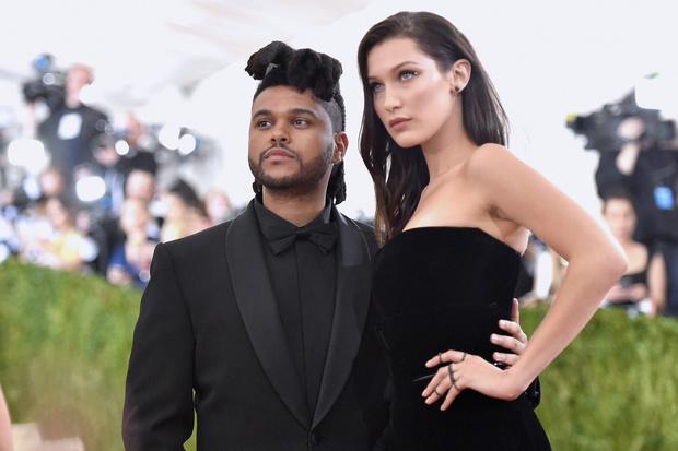 The Weeknd и Белла Хадид, май 2016 года