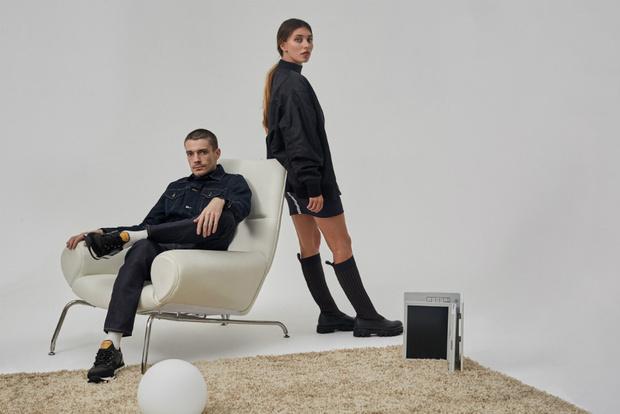 Регина Тодоренко и Максим Матвеев в новой рекламной кампании NO ONE фото [2]
