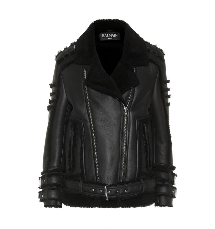 Кожаная куртка с мехом — лучшая покупка ноября (фото 8)