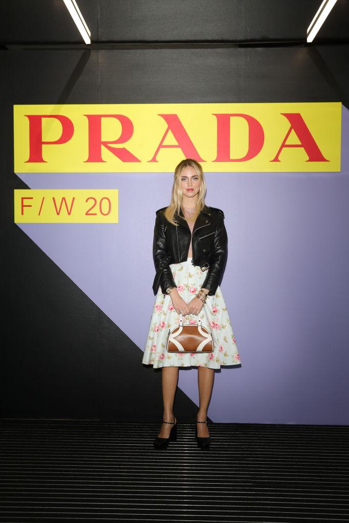 Барбара Палвин, Джильда Амбросио, Кьяра Ферраньи и другие гости показа Prada Menswear Fashion Week (фото 3)