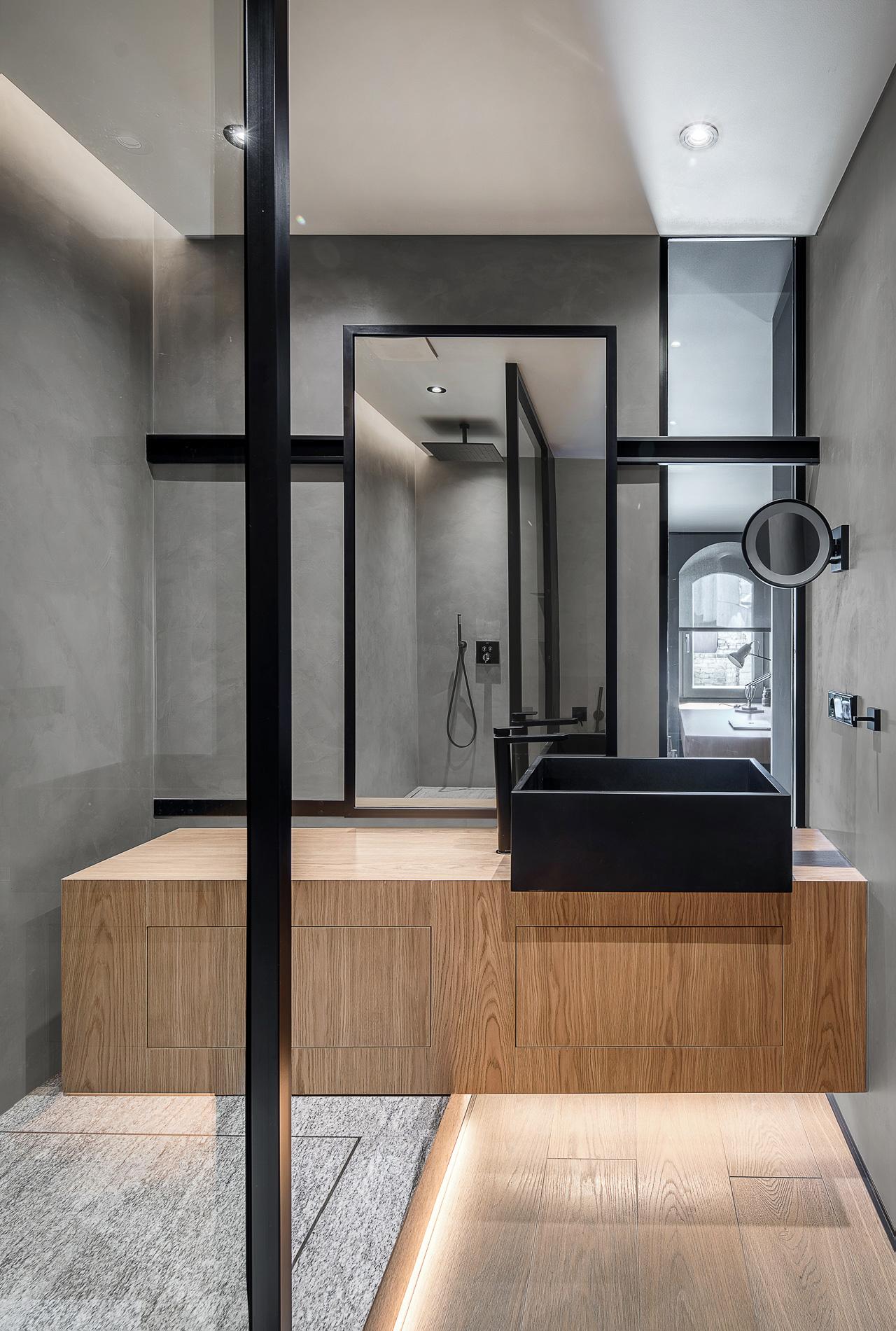 Монохромный лофт 180 м² в Киеве (галерея 15, фото 4)