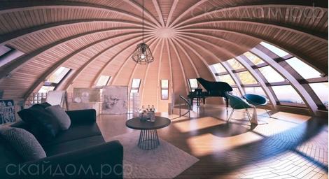 Купольные дома от российской компании   галерея [1] фото [3]