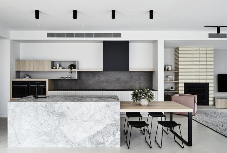 Дом в Мельбурне с пастельными акцентами (фото 2)