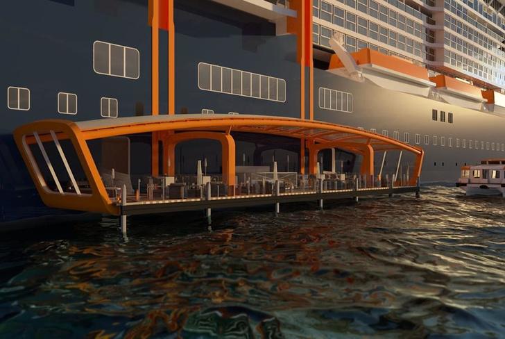 Келли Хоппен и Патрисия Уркиола оформили интерьеры круизного лайнера (фото 5)