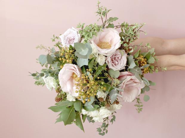Мастер-класс: осенний букет из диких цветов (фото 33)