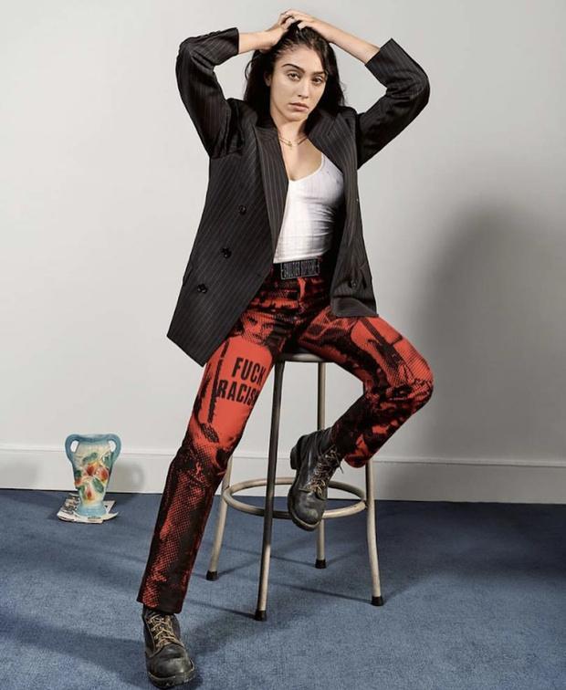 Дочь Мадонны стала лицом любимого бренда своей мамы (фото 1)