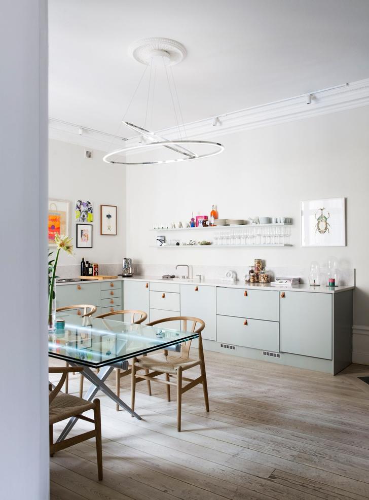 Эклектичный интерьер квартиры в Стокгольме (фото 6)