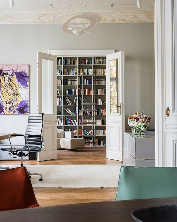 Традиции и современность: квартира в Берлине (фото 1)