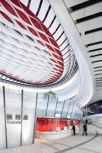 Футуристичный театр оперы в Гонконге (фото 7.1)