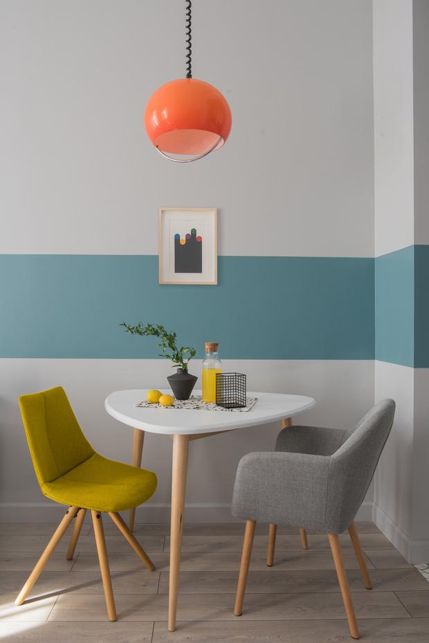Color blocking: квартира 46 м² под сдачу (фото 10)