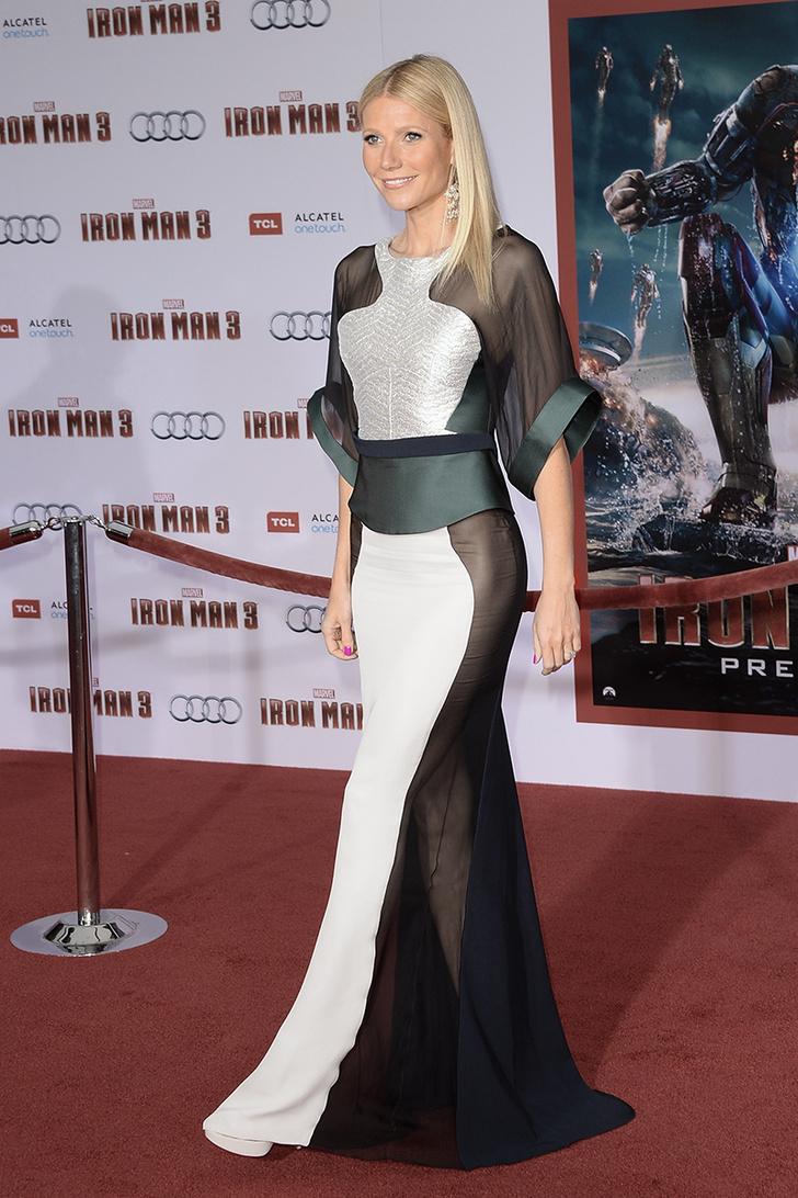 Актриса Гвинет Пэлтроу Платья наголо: самые сексуальные наряды звезд