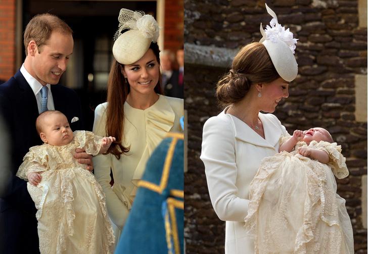 Крестины принца Георга; крестины принцессы Шарлотты