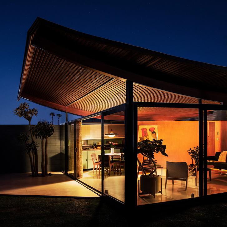 Модернистский дом-«волна» в Калифорнии (фото 16)